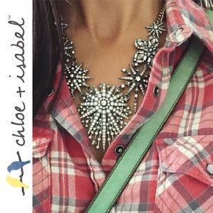 Chloe + Isabel Jewelry - 🆕 Starburst Statement Necklace c+i N478SGCL